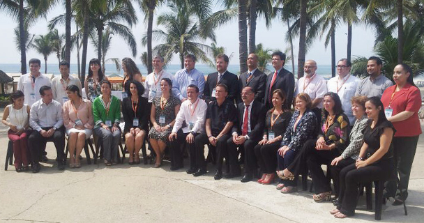 Representatives of the American Health Authorities. Photo: COFEPRIS website.